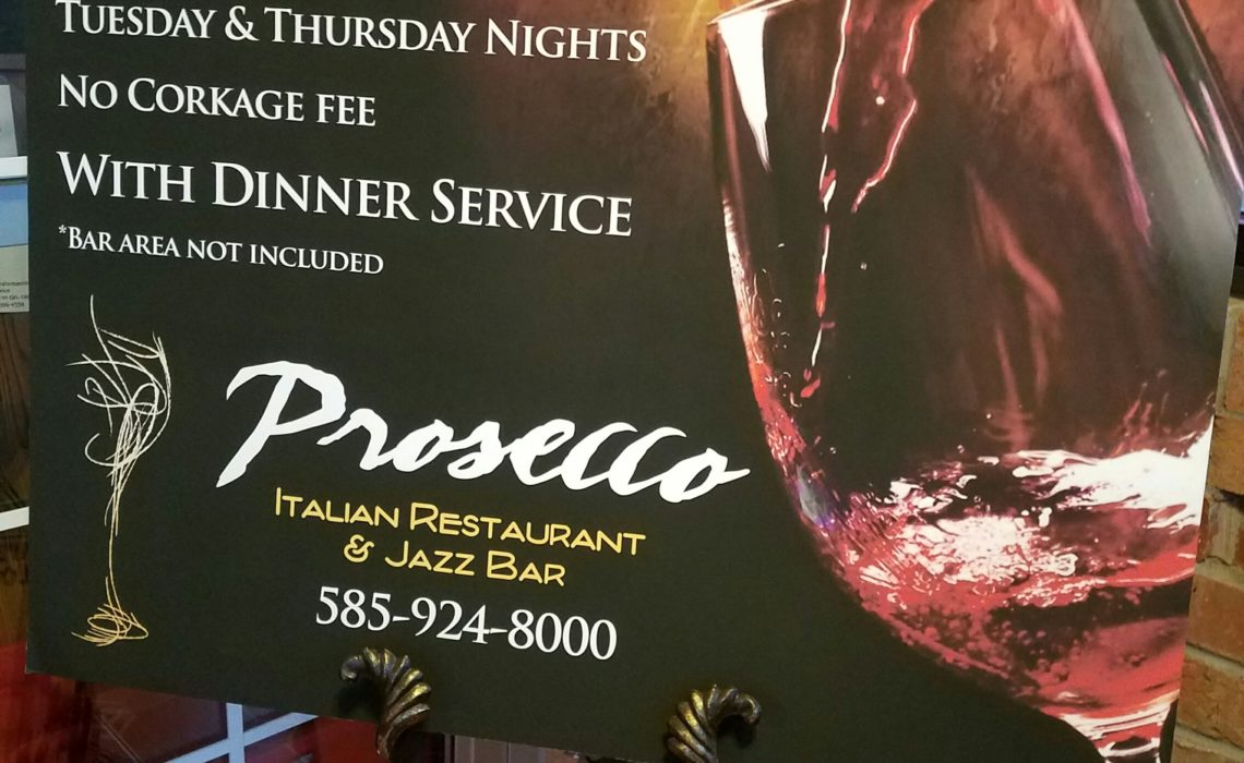 DINING ITALIAN STYLE: Prosecco Italian Restaurant and Jazz Bar